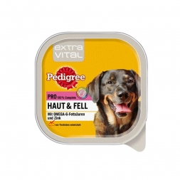 Pedigree Schale Extra Vital Pro Haut & Fell 300g (Menge: 10 je Bestelleinheit)